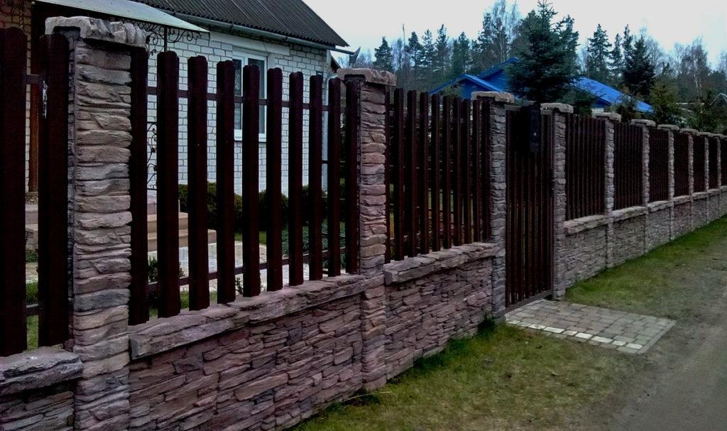 панельный забор Танвальд