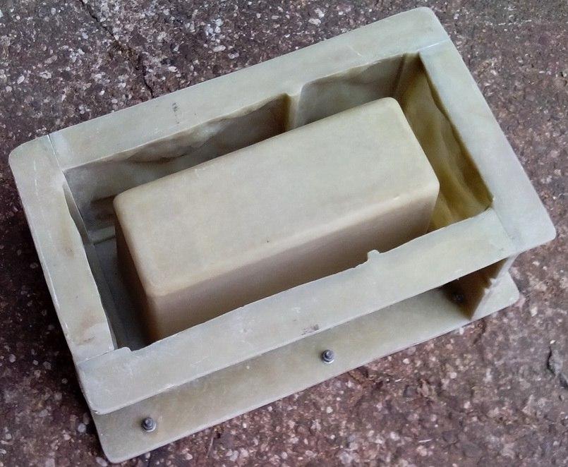 форма под вибролитьевой блок