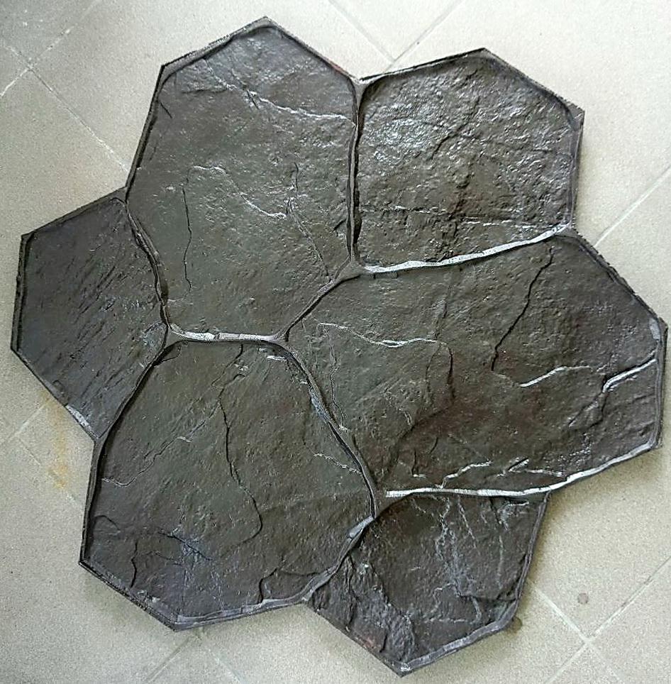 штамп каменный цветок