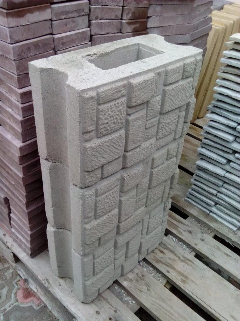 блок рядовой мозайка