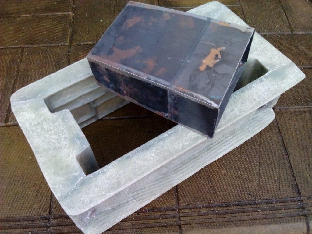форма блока ряда Галька
