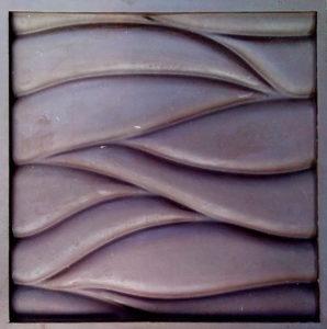 форма волна крупная поливинилпласт