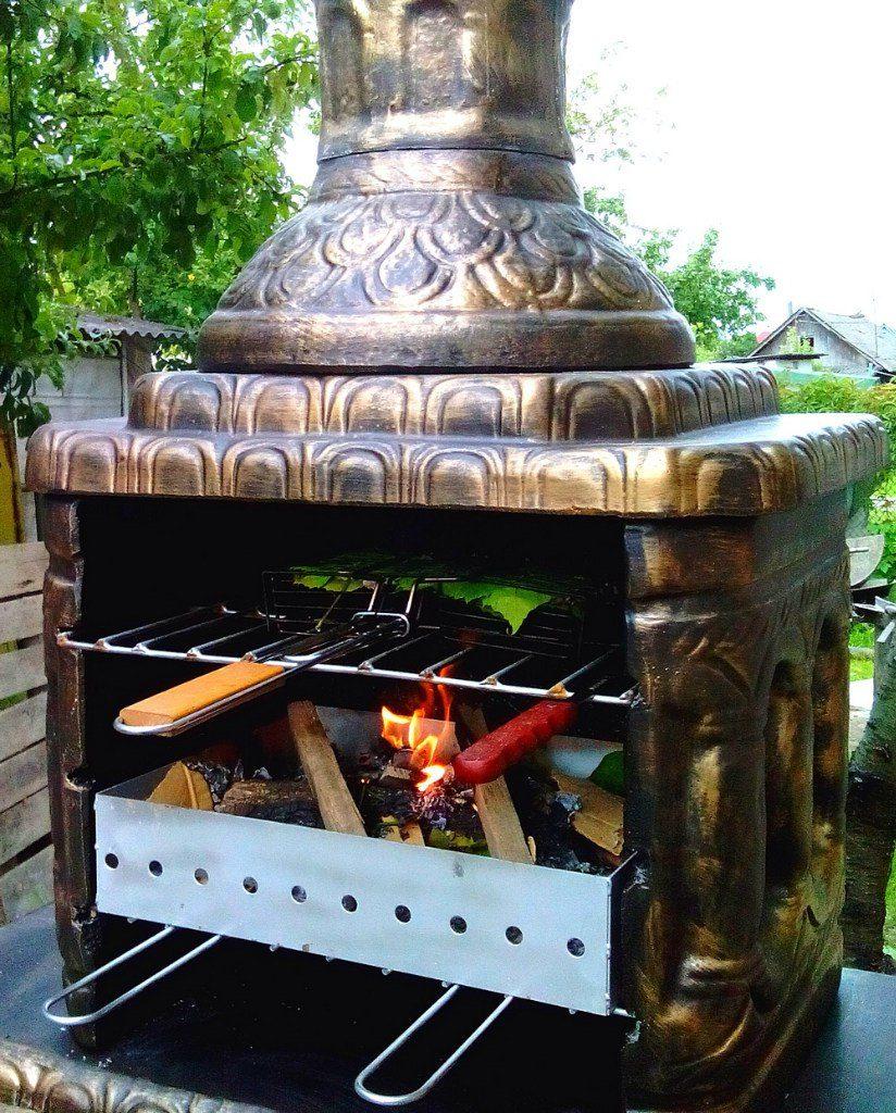 Как сделать печь мангал?