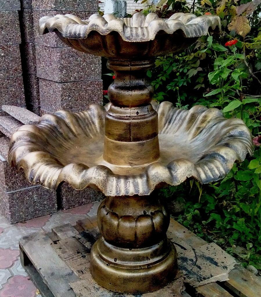 2 чаши фонтана