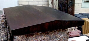 крышка парапета 44х49 см