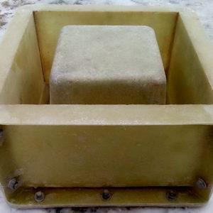 форма столба мытый бетон